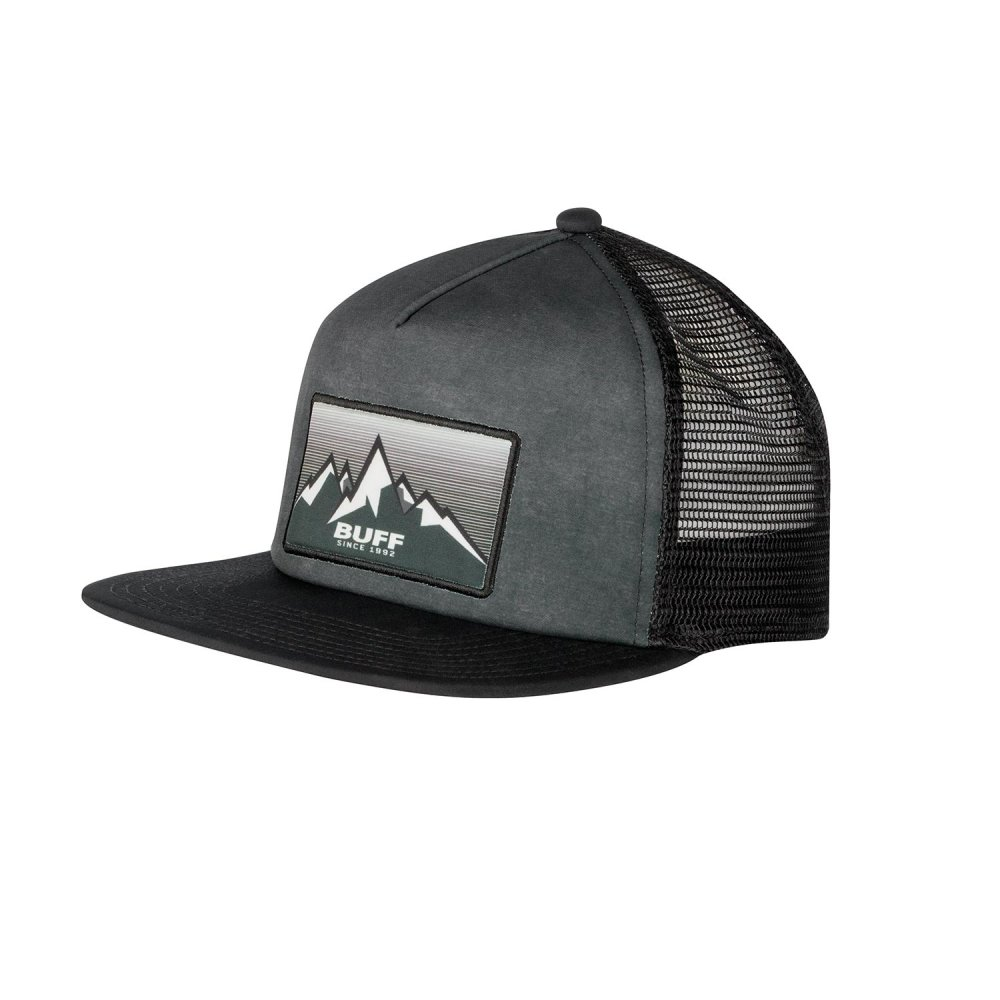 Кепка Buff Trucker Cap Jasum Black