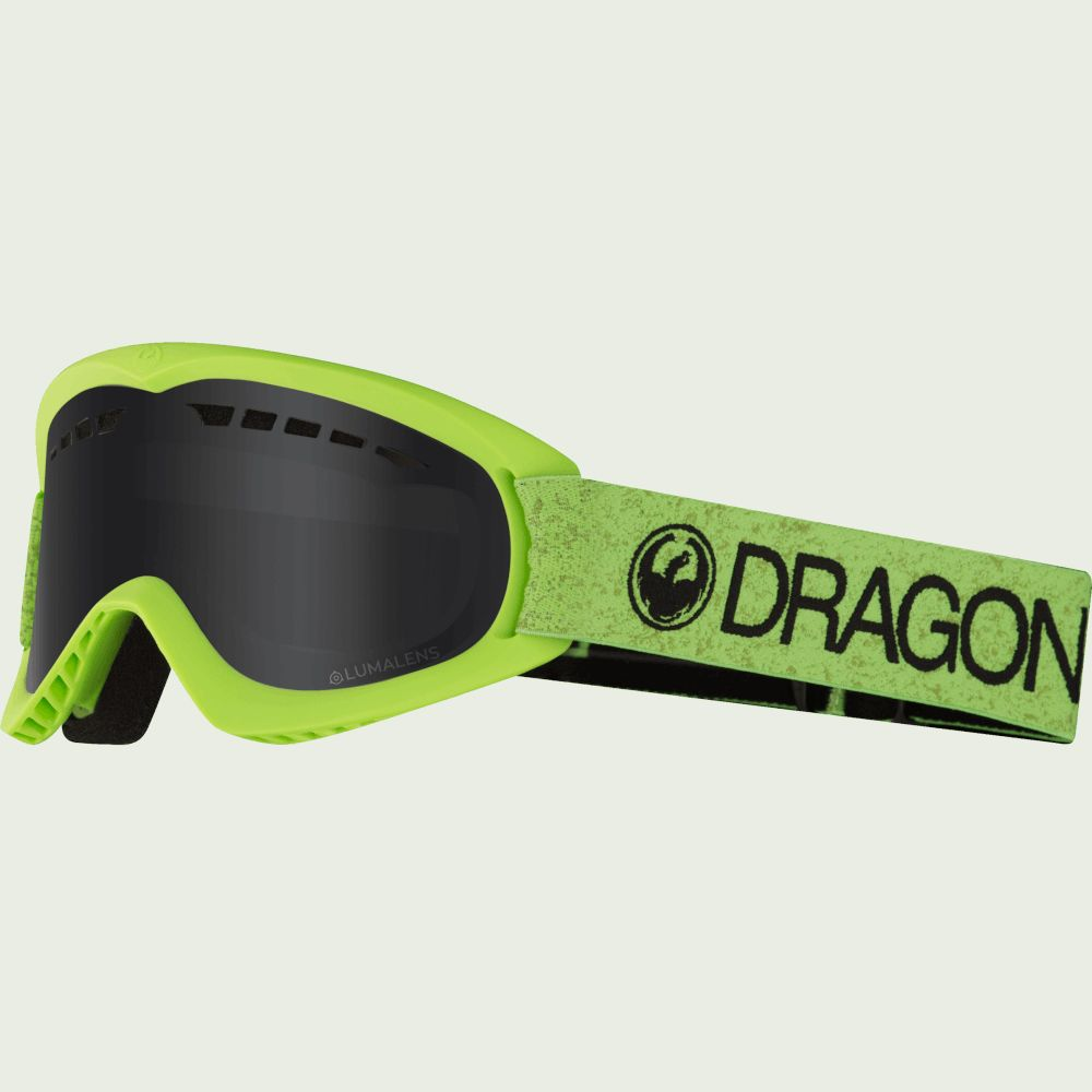 Маска Dragon DX Green/Dark Smoke