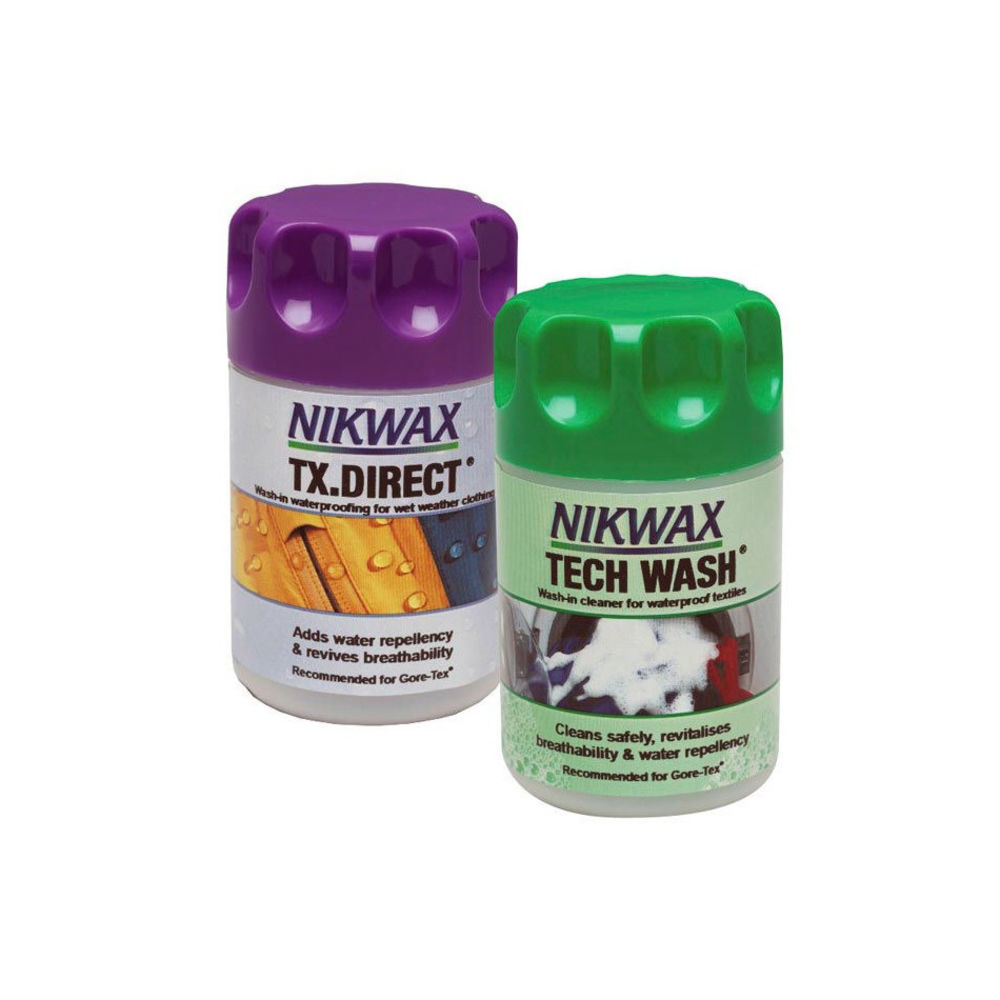 Набір Nikwax Twin Pack (Tech wash 150 мл + TX Direct 100 мл)