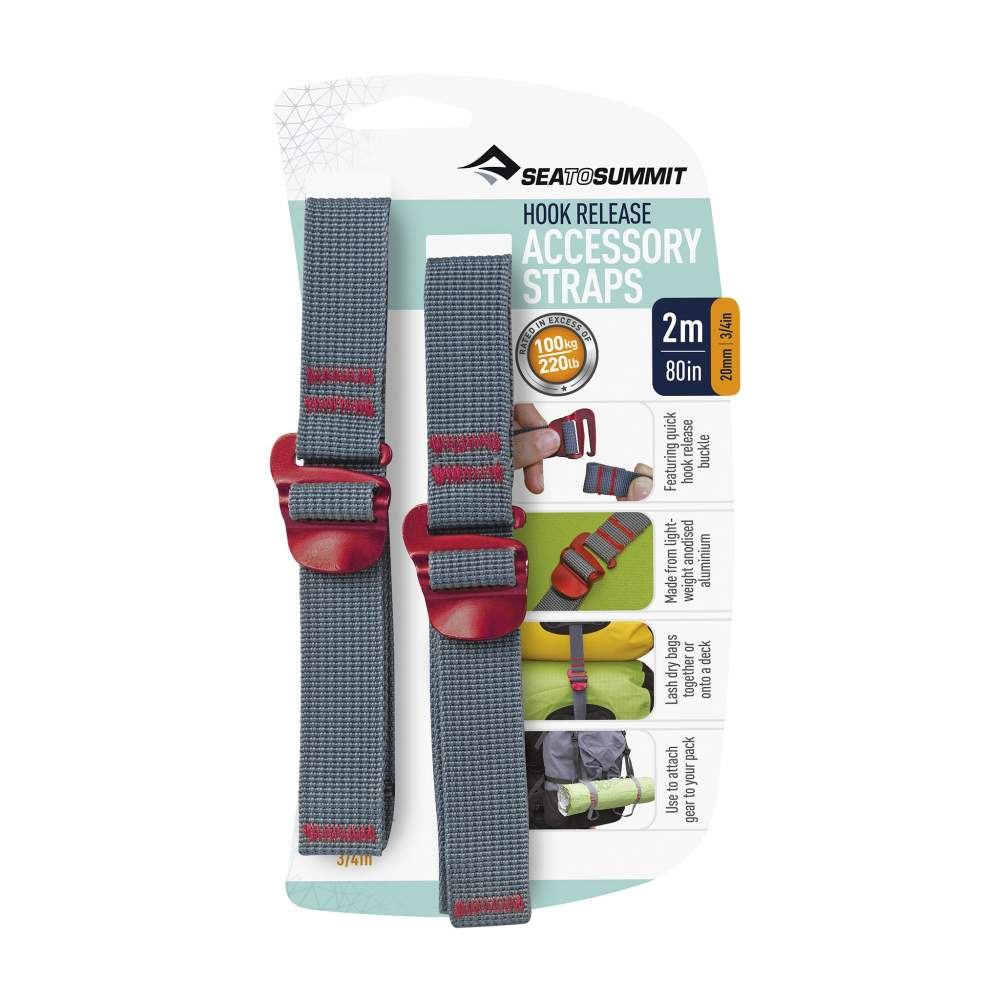 Стяжка Sea to Summit Accessory Strap with Hook Buckle 20mm - 1.5 m