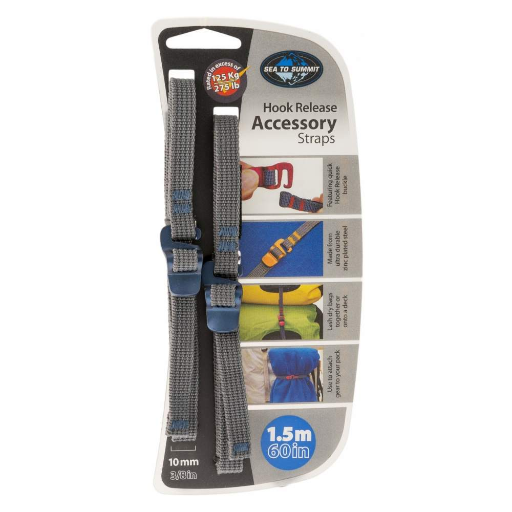 Стяжка Sea to Summit Accessory Strap with Hook Buckle 10mm - 1.5 m