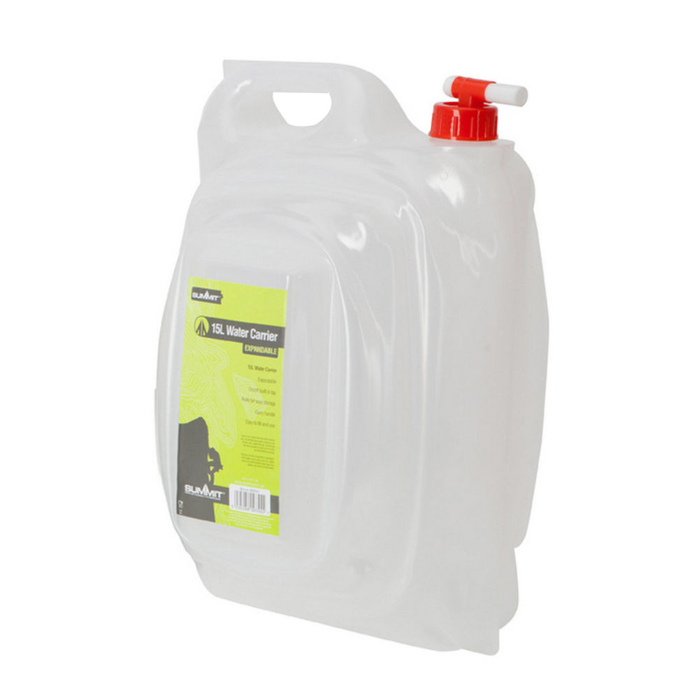 Канистра складная Summit Expandable Water Carrier 15л