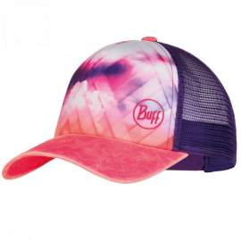 Кепка Buff Trucker Cap lukka multi / ray rose pink