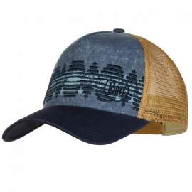Кепка Buff Trucker Cap tzom stone blue